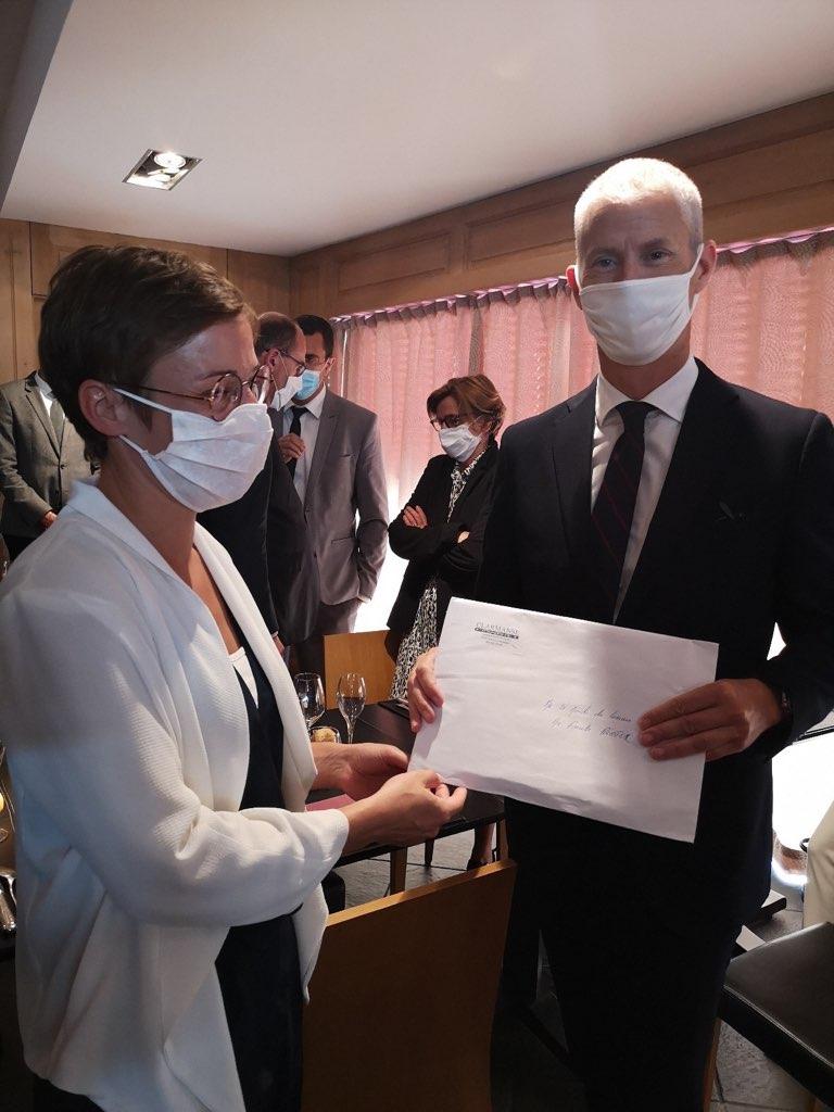 Franck Riester reçoit nos propositions